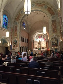 National Shrine of Mary, Help of Christians inside