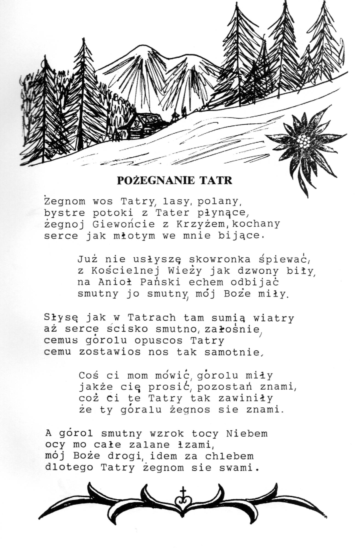 Nowości Fundacja Tatrzańska